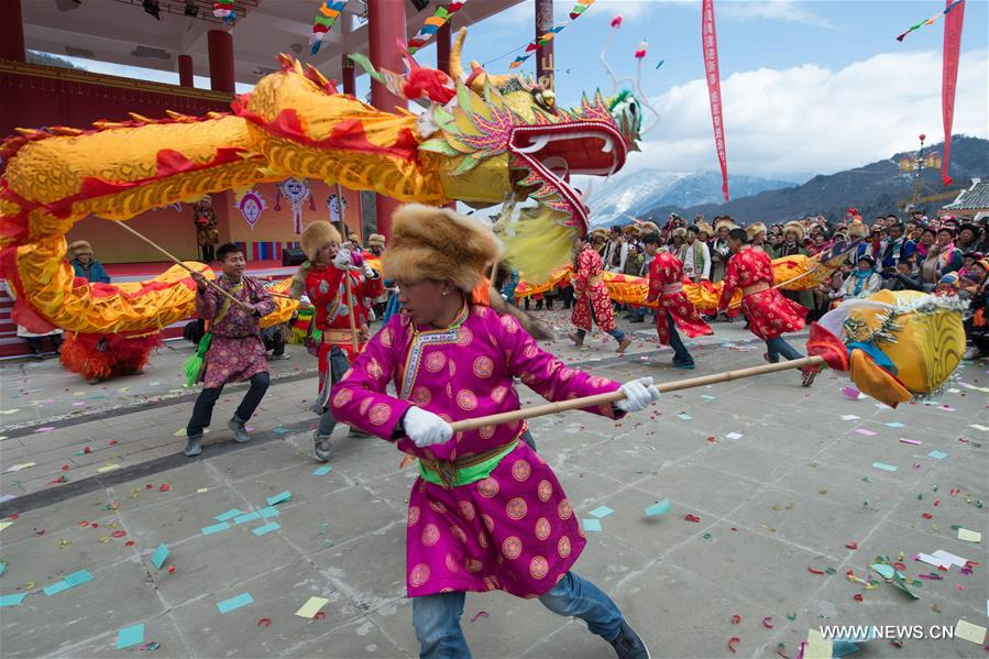 Annual Shangjiu Festival celebrated in Sichuan