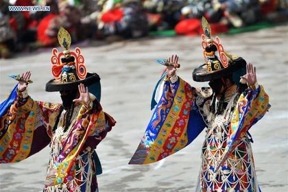 Religious dance performed in NW China