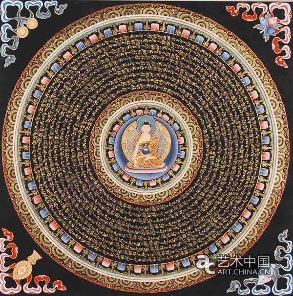 Tibetan Culture Thangka