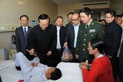中华慈善总会慰问藏区受助包虫病患者