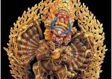 Cultural relics in Dalai Lamas' summer palace debuts in Fujian