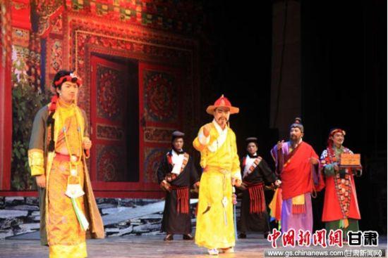 """Gannan Tibetan Opera wins Gansu """"special award"""""""