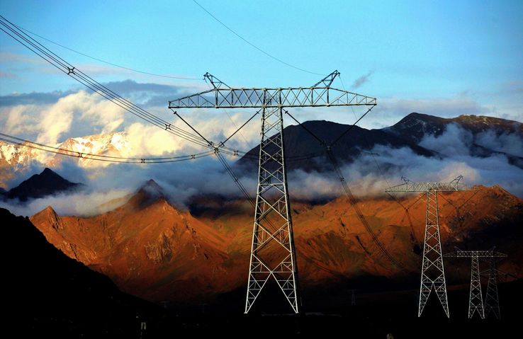 National power grid delivered 3 bln kilowatts to Tibet in five Years