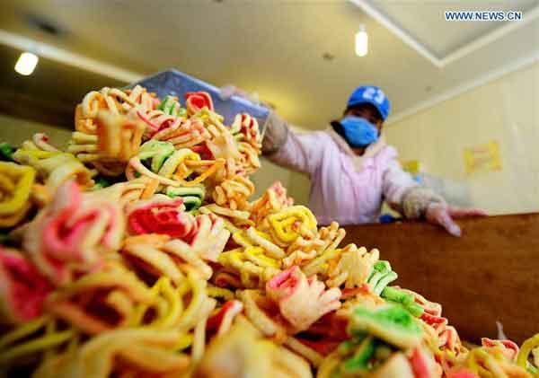 "In pics: Traditional Tibetan food ""Kasai"""