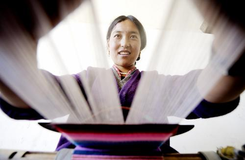 Bangdian: beautiful ornament for Tibetan women