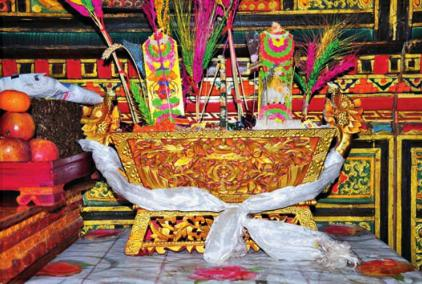Tibetans celebrate ancient ancestors in year of the monkey