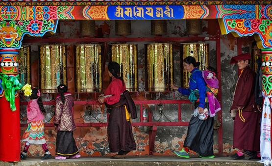 Pilgern – Frömmigkeit zu Buddha