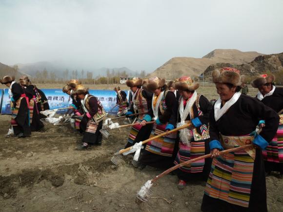 Lhoka feiert Beginn der Feldbestellung 2