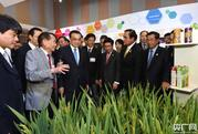 李克强向湄公河五国领导人赠送杂交水稻大米