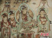 敦煌壁画展武汉举行 高保真技术再现千年神韵