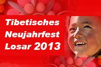 Tibetisches Neujahrfest Losar 2013