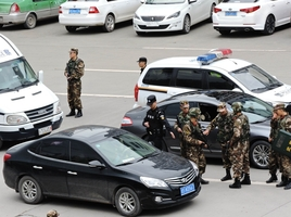 City-wide search for a suspect in Sichuan