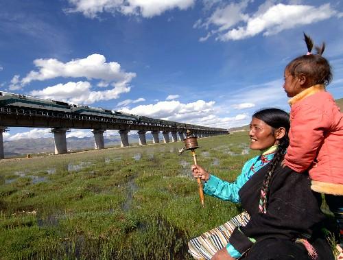 Ecology protection lifts Tibetan farmer's income