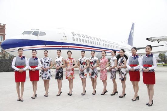 Tibet Airlines stellt hübsche Stewardessen ein 1