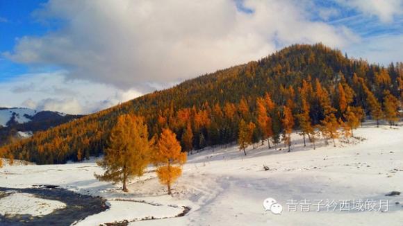 Altay zwischen Herbst und Winter