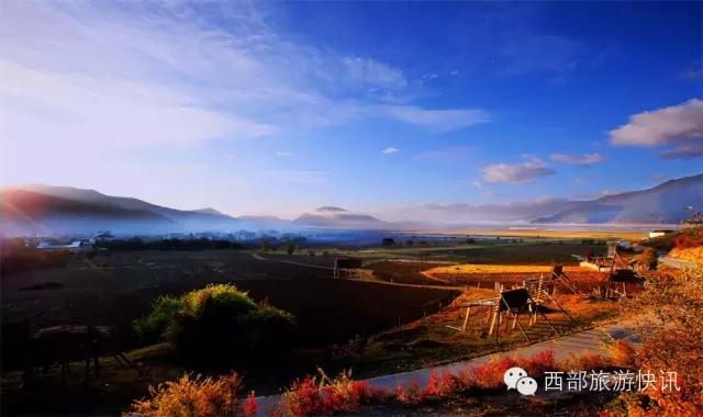 """大香格里拉环线美景 不容错过的得荣""""太阳谷"""""""