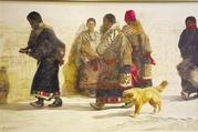 55幅精品油画带你认识西藏