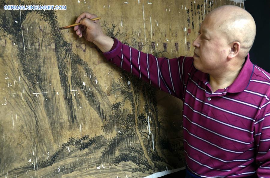 Traditionelle Kunstwerke lassen sich wiederherstellen