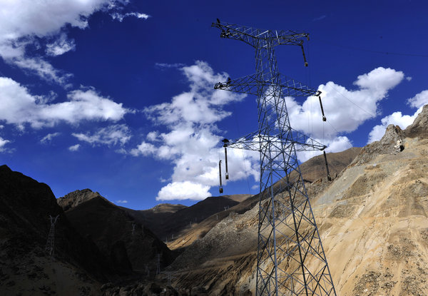 Electricity officially generated at Tibet's Boluo hydropower station