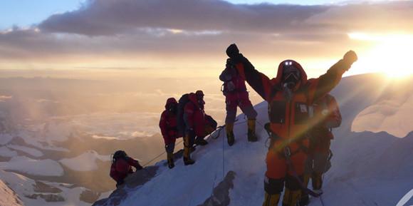 Viele Probleme bei Mt Qomolangma-Besteigung