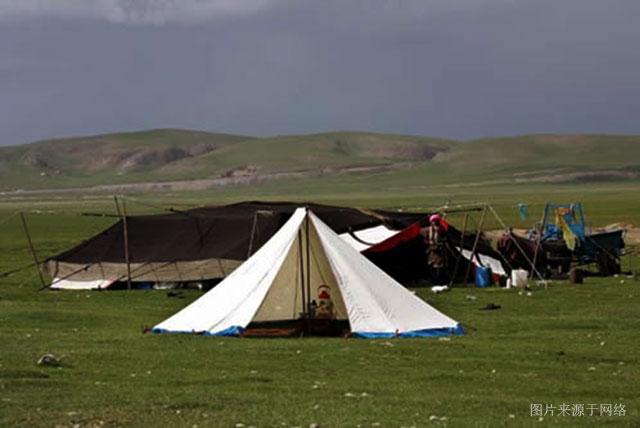 藏族的婚俗 扎巴婚俗 钻帐篷