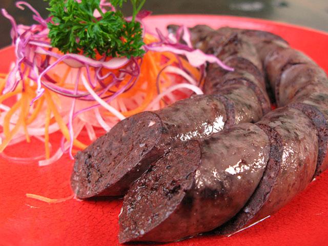 藏族血肠 吃血肠的礼仪 血肠的由来