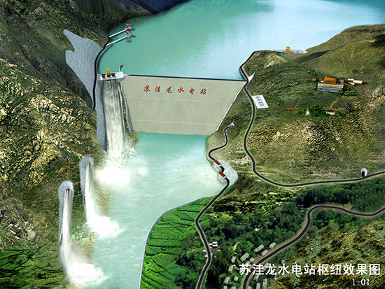 Tibet starts constructing its 1st over-million-kilowatt hydropower station
