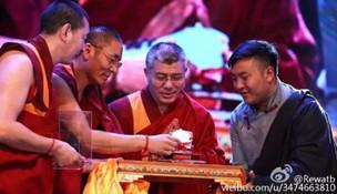 Kleidungsmarke eines tibetischen Unternehmers
