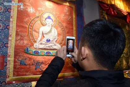 Scroll with it: The life of a thangka star