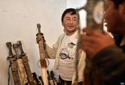 西藏易贡藏刀:千百次敲打的艺术