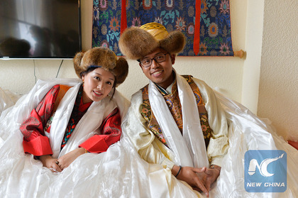A Tibetan wedding: Something old, something new