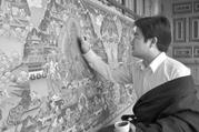 """青海藏区特色文化产业:扬帆远航""""闯世界"""""""