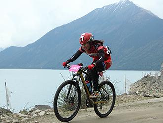 2016第四届环巴松措国际山地自行车越野竞速赛开赛