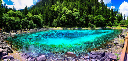 Jiuzhaigou, a great place to visit in the summer