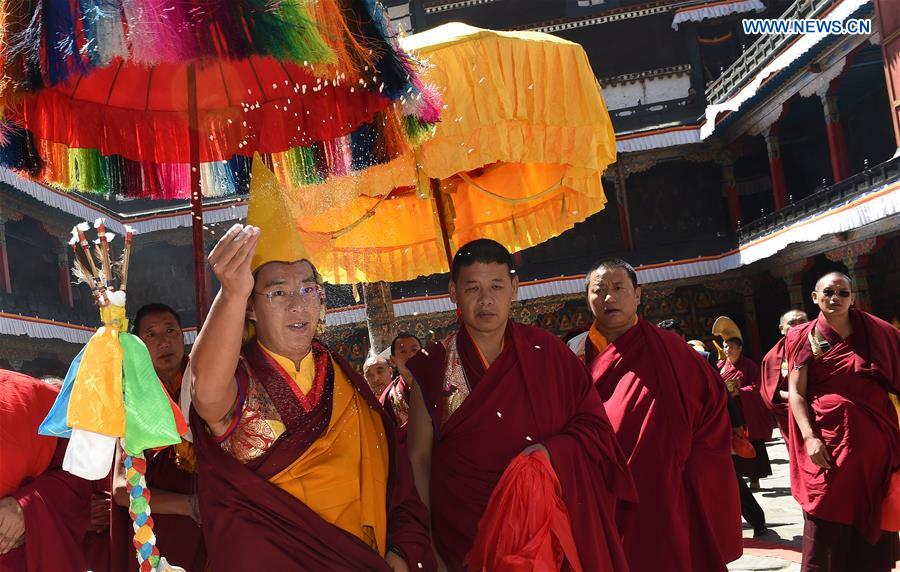 11th Panchen Lama to hold religious activities, SW China's Tibet