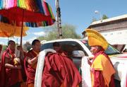 十一世班禅回日喀则了!让你见识藏传佛教最高礼仪