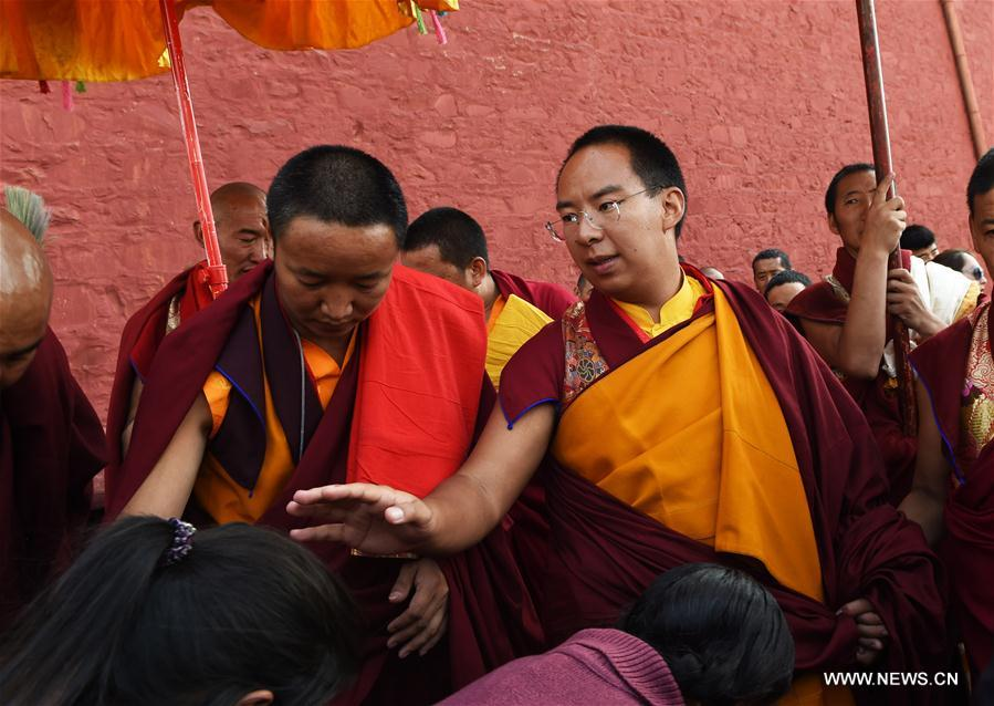 11th Panchen Lama concludes religious activities in Tibet