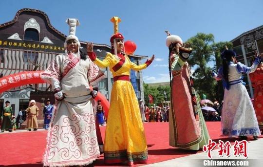 藏族服饰花纹图案