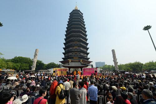 第五届常州佛教文化(旅游)节开幕