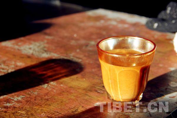 Sweet tea houses in Lhasa