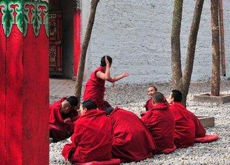 The Monastery life of Tibetan Buddhist monks (1)