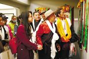 西藏唐卡传承人师徒作品联展第三期开展