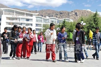 80% of Tibetan college entrance examination students are farmer children