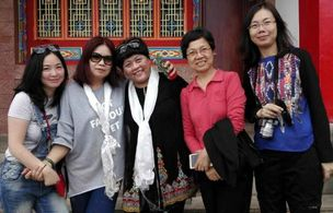 海外华文媒体藏区天路行——云南迪庆