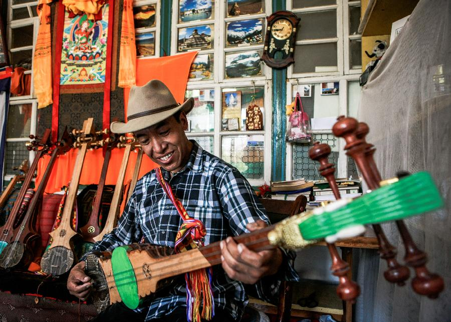 Zhanian: A traditional Tibetan musical instrument