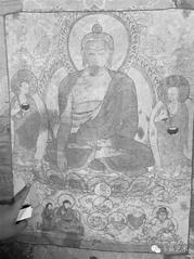 勉拉顿珠亲笔唐卡首次被发现