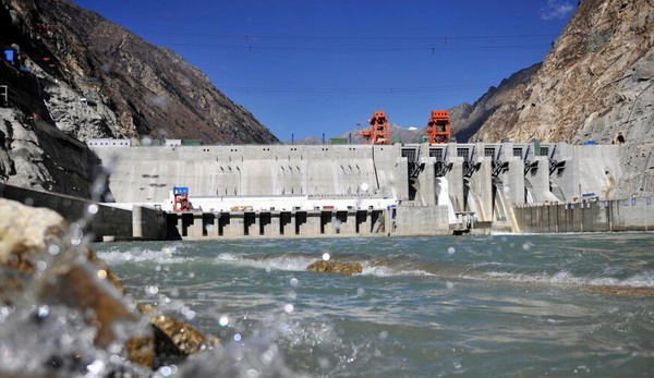Tibet's hydroelectric power development capacity rank first nationwide