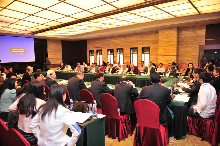 """""""中国西藏发展论坛""""分组讨论"""