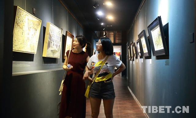 """The Far-off Land – The Journey to Tibet Oil Painting Exhibition"" was opened in Beijing"