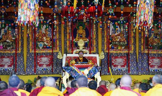感受历代班禅大师的爱国情怀——探访西藏日喀则扎什伦布寺